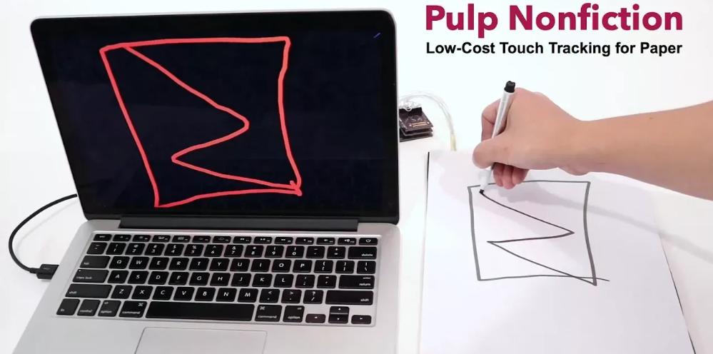 Dokunmatik A4 mü ? Low-cost touch a4 paper