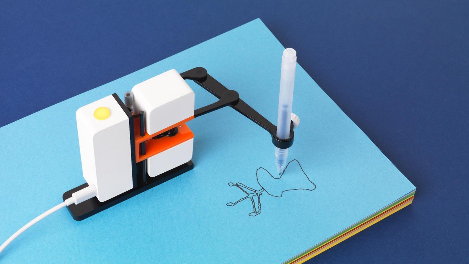 Line-us : Sizin yerinize çizim yapan minik robotunuz