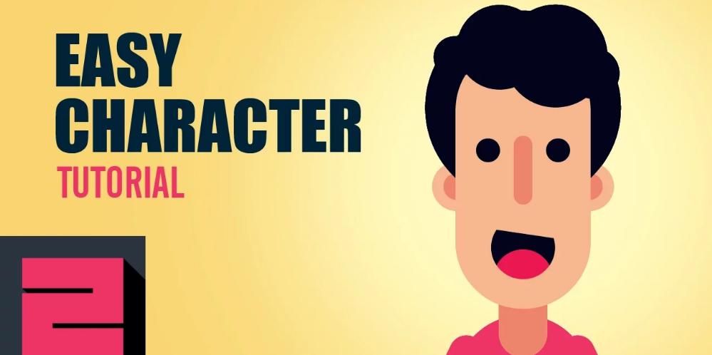 Basit şekillerden profesyonel karakter tasarımı